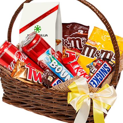 корзина сладостей - заказать с доставкой