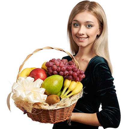 "Fruit basket ""Bright mix"" - delivery in Ukraine"