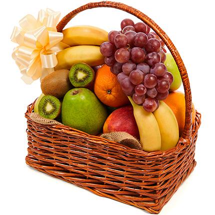 """Кошик фруктів """"Фруктовий Джаз"""" - замовити з доставкою"""
