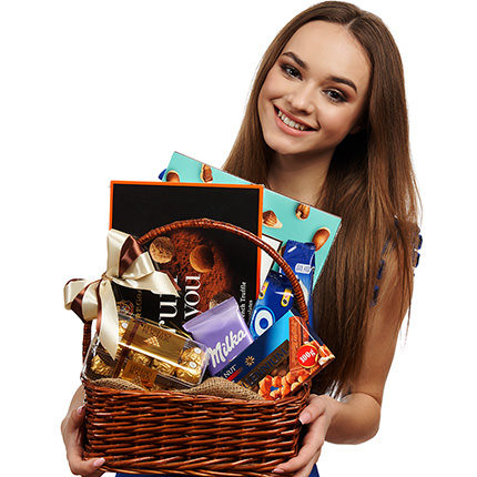 "Gift basket ""Pleasure!"" - delivery in Ukraine"