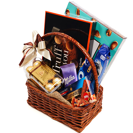 "Gift basket ""Pleasure!"" - order with delivery"