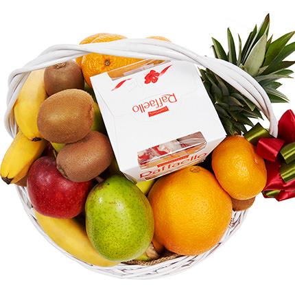 """Корзина фруктов """"Фруктовая фантазия!"""" - заказать с доставкой"""