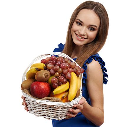"""Кошик фруктів """"Фруктовий хiт"""" - доставка по Україні"""