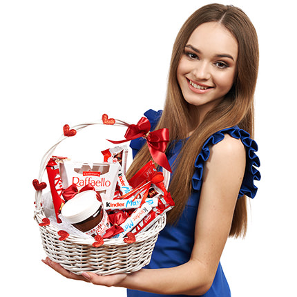 """Gift Basket """"Love You"""" - delivery in Ukraine"""