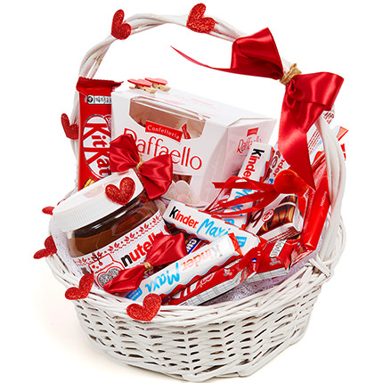 """Gift Basket """"Love You"""" - order with delivery"""