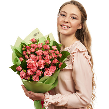 Bouquet of spray roses  - delivery in Ukraine