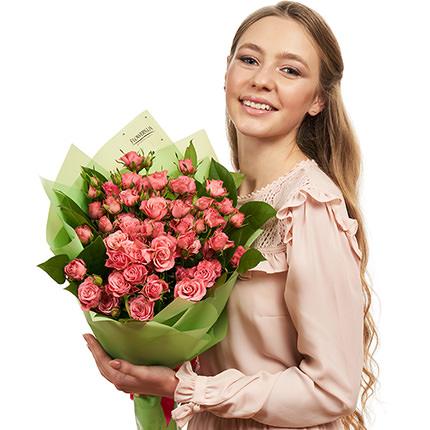 Букет кустовых роз  - доставка по Украине