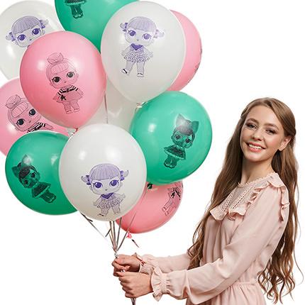 """Коллекция шариков """"Куколки"""" - заказать с доставкой"""