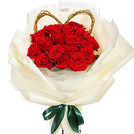 """Bright bouquet """"Gentle kiss"""" - order with delivery"""