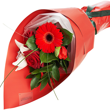 """Bouquet """"For a beautiful woman"""" - order with delivery"""