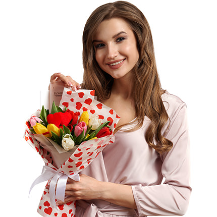 """Bouquet """"Congratulations, with love ...!"""" - delivery in Ukraine"""