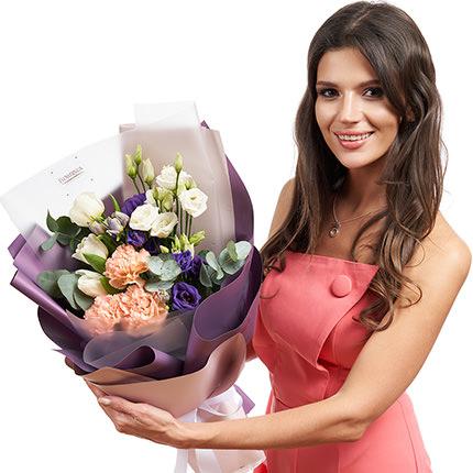 "Bouquet ""Magic Amethyst"" - delivery in Ukraine"
