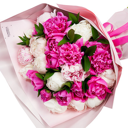 """Author's bouquet """"Mix of delicate peonies"""" - order with delivery"""