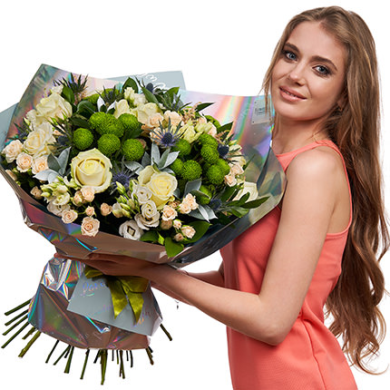 "Stylish bouquet ""Summer exclusive"" - delivery in Ukraine"