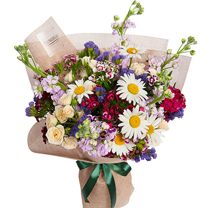 """Bouquet """"Summer field mix"""" - order with delivery"""