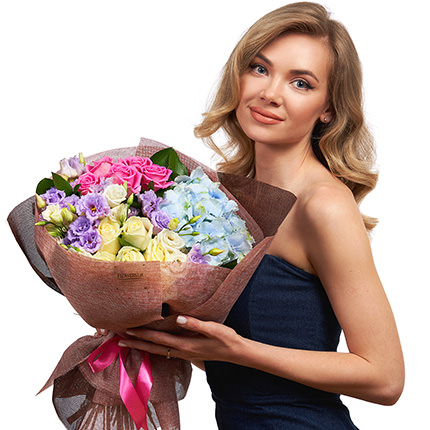 """Summer bouquet """"Incredible miracles"""" - delivery in Ukraine"""
