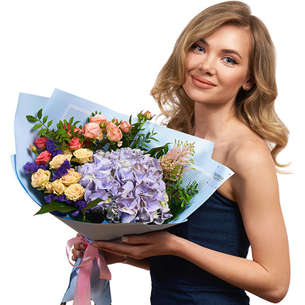 """Bouquet """"The Way to the Heart!"""" - delivery in Ukraine"""