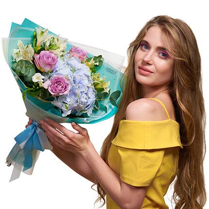 "Autumn bouquet ""Compliment"" - delivery in Ukraine"