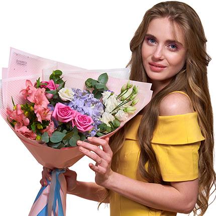 """Ніжній букет """"Емоція!"""" - доставка по Україні"""
