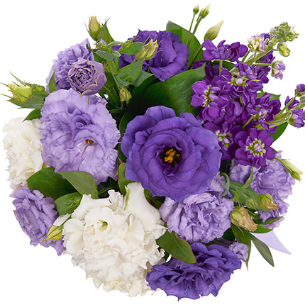 """Цветы в коробке """"Поздравление"""" - заказать с доставкой"""