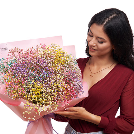 """Bouquet """"Rainbow of emotions"""" - delivery in Ukraine"""
