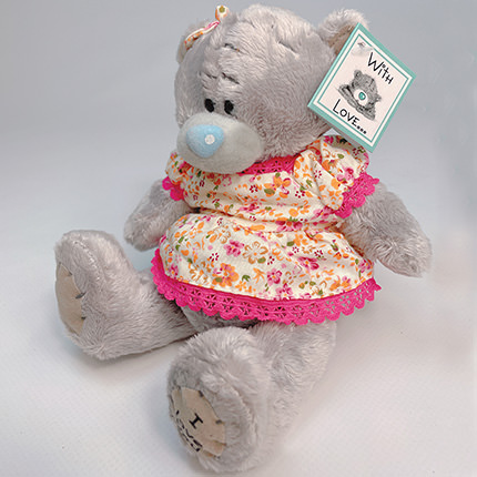 """Soft toy """"Teddy bear"""" (girl) - delivery in Ukraine"""