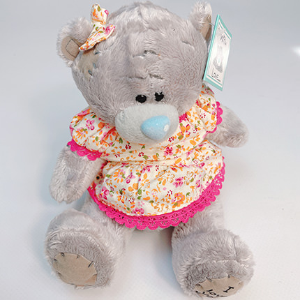 """Soft toy """"Teddy bear"""" (girl) - order with delivery"""