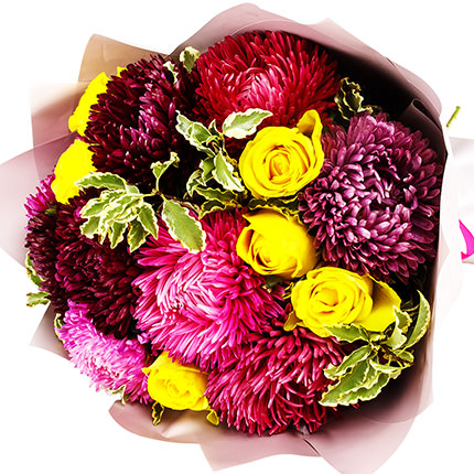 """Bouquet """"Autumn palette"""" - order with delivery"""