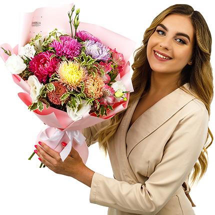 "Autumn bouquet ""Watercolor"" - delivery in Ukraine"