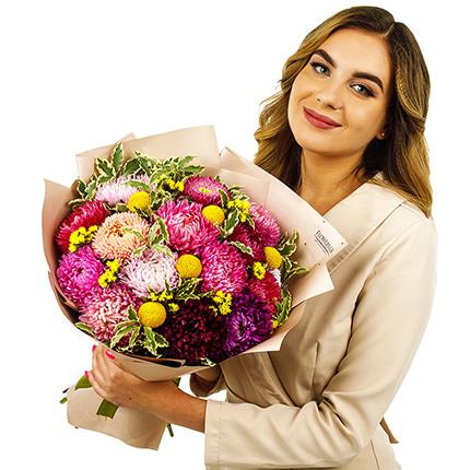 """Букет """"Осенние цветы"""" - доставка по Украине"""