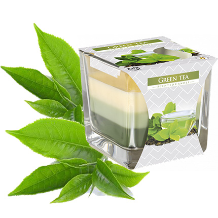 """Three-layer candle """"Green tea"""" - delivery in Ukraine"""