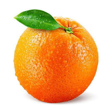 """Свічка тришарова """"Апельсин"""" - замовити з доставкою"""