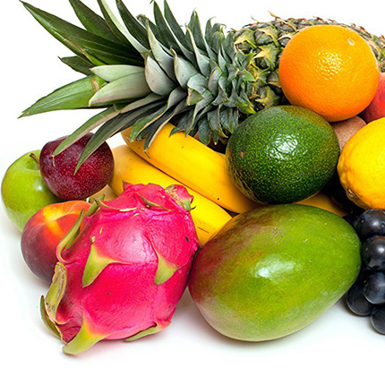 """Single-layer candle """"Tropical fruits"""" - order with delivery"""