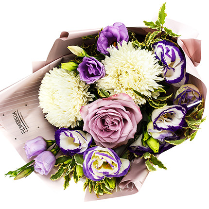 """Autumn bouquet """"Purple mood"""" - order with delivery"""