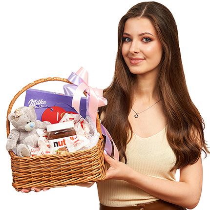 """Gift basket """"For the sweetest"""" - delivery in Ukraine"""