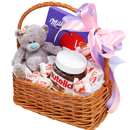 """Gift basket """"For the sweetest"""" - order with delivery"""