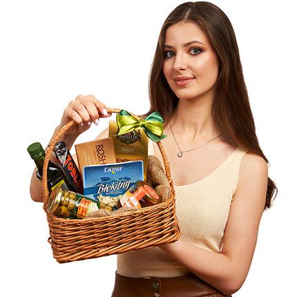 "Gift basket ""Nice evening"" - delivery in Ukraine"