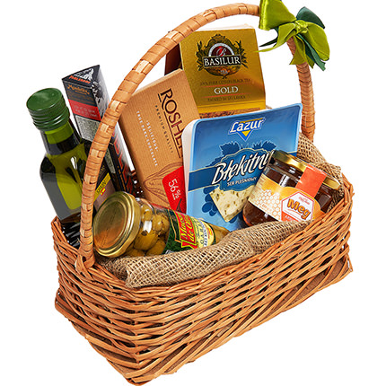 """Gift basket """"Nice evening"""" - order with delivery"""