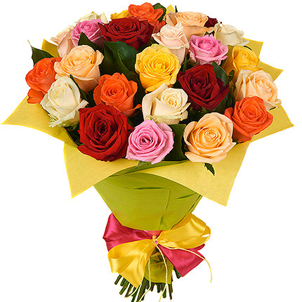 "Bouquet of roses ""Carnival of Love"" - delivery in Ukraine"