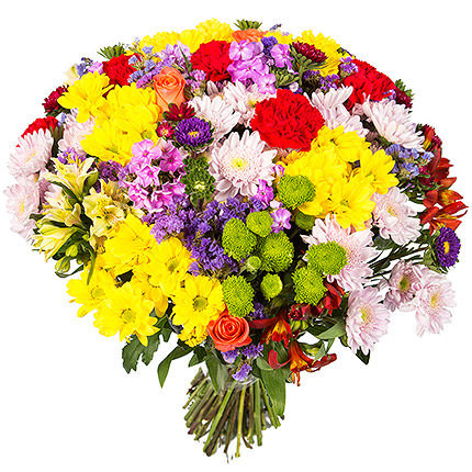 "Bright bouquet ""Artist's colours"" - delivery in Ukraine"