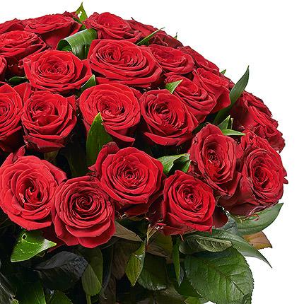 49 красных роз - доставка по Украине