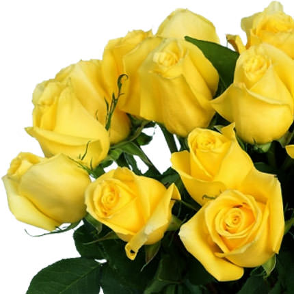 "Bouquet of yellow roses ""Fairy Tale"" - delivery in Ukraine"