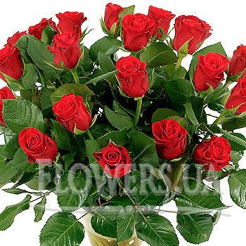 """Букет ярких роз """"Ностальгия"""" - доставка по Украине"""
