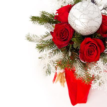 Букет от Деда Мороза - доставка по Украине