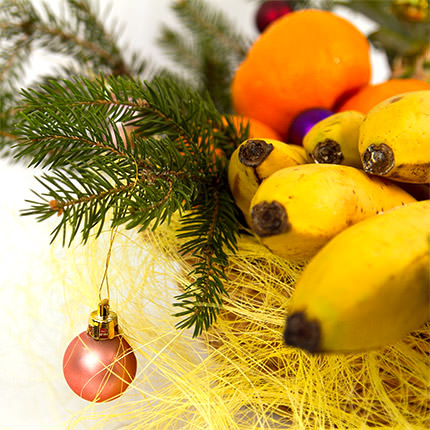 """Fruit basket """"Farewell!"""" - order with delivery"""
