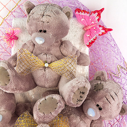 "Bouquet of toys ""Little Bears"" - order with delivery"