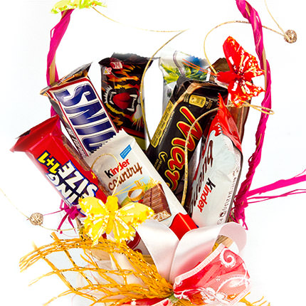 "Basket ""Sweet moment"" - delivery in Ukraine"