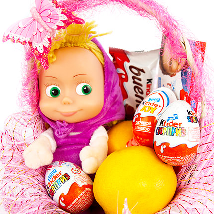 "Basket ""Masha's holiday"" - order with delivery"