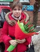 """Romantic bouquet """"I Love ...!"""""""