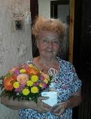 Bouquet in a pot